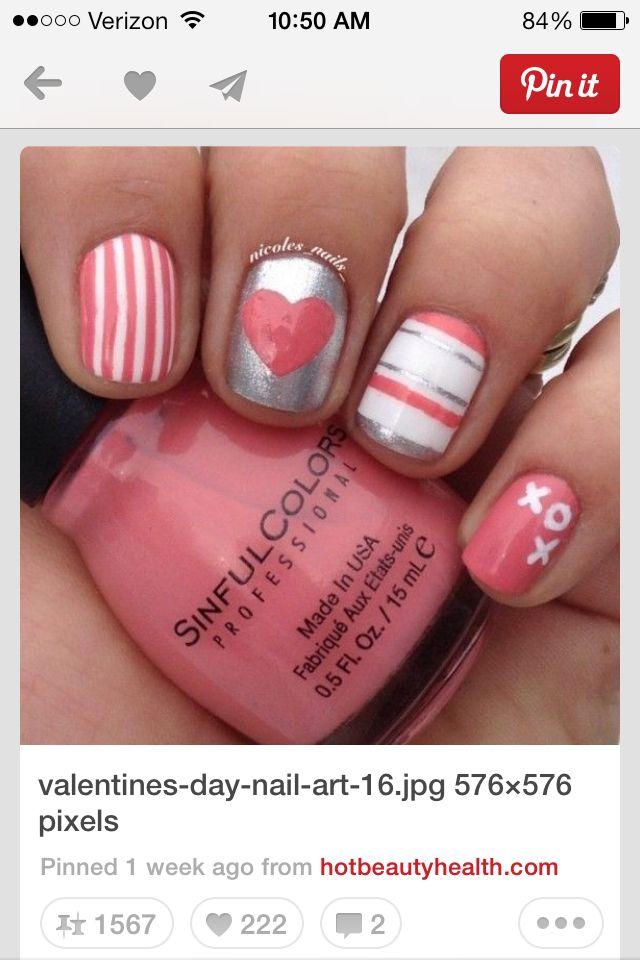 Hearts, stripes XOs