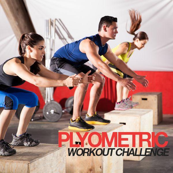 Plyometric Workout Challenge