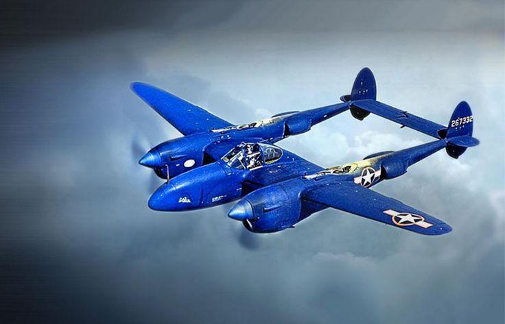 Milrab / LUMINOX P-38 Lightning 9421 - Klokke