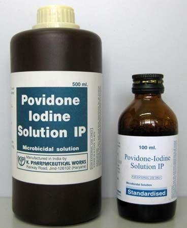 BEST Nail Fungus Solution - Povidone iodine