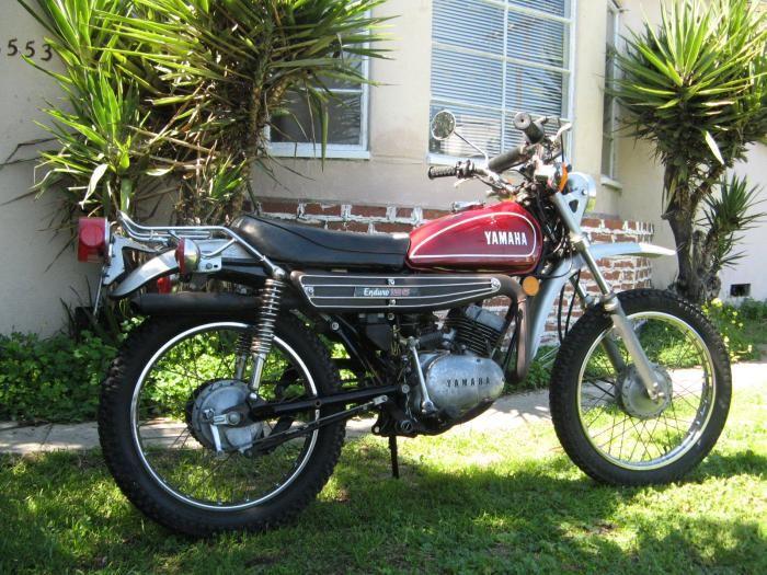 1974 Yamaha 125 Enduro