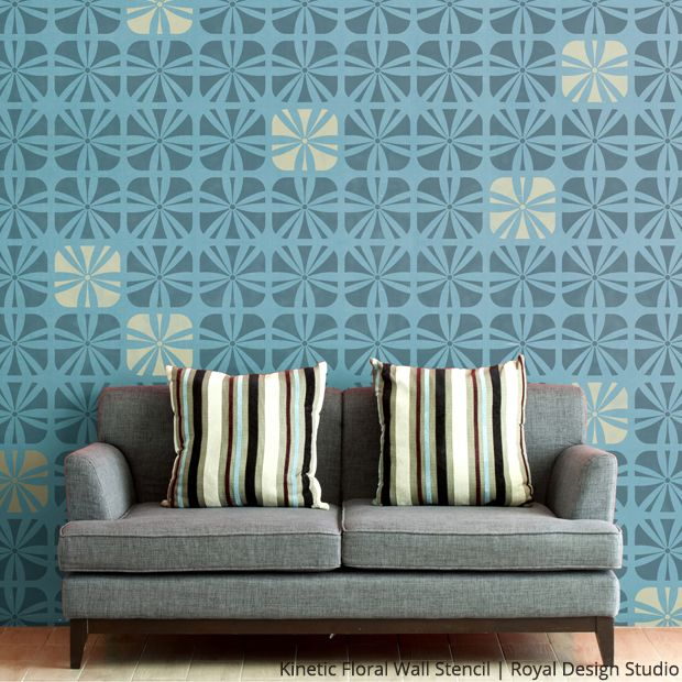 186 Best Images About Modern Wall Stencils On Pinterest | Trellis