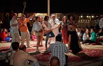 Overnight camping Abu Dhabi