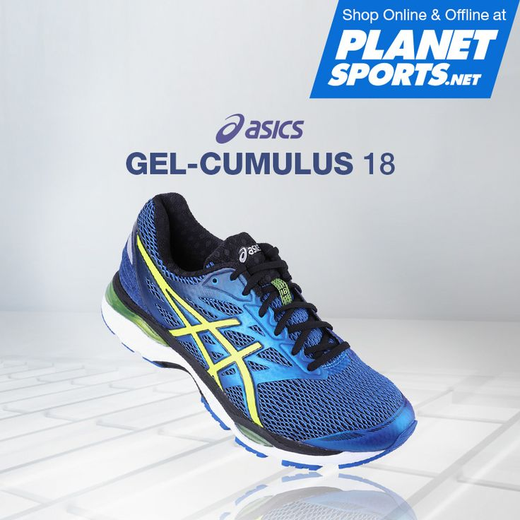 For improved comfort and an unprecedented ride, the GEL-CUMULUS 18 features Rearfoot GEL-Cushioning Technology that is placed closer to the foot to replicate the foots natural tissue, increasing function and shock dissipation.