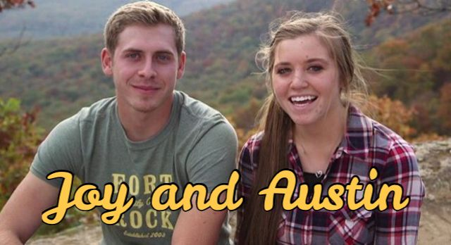 Introducing the newest Duggar couple.... Joy and Austin! More info on Austin to come. But congrats on their official courtship announcement.