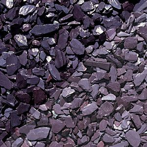 Wickes Blue Slate Chippings Major Bag