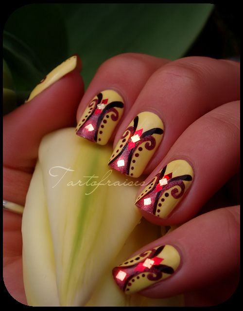 87 Best African Inspired Nails Images On Pinterest