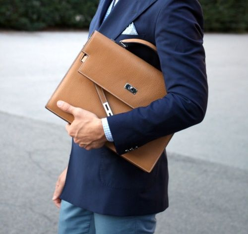 To me every business man needs a brief case and when I am one I will carry a brief case around.