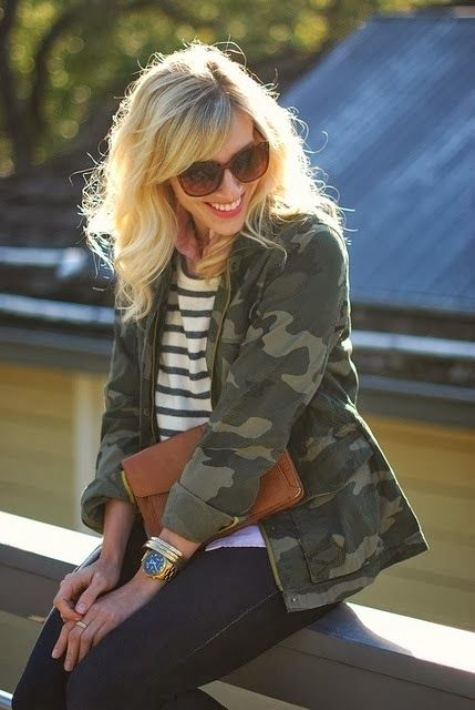 How to Chic: CAMO JACKET