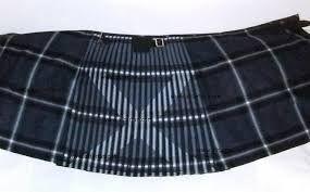 The Ancient saltire kilt with lion motif on front apron