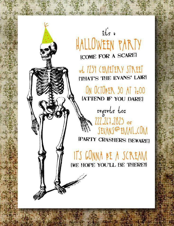 free printable halloween invitations for adults  u2013 invitationtemplatesword com
