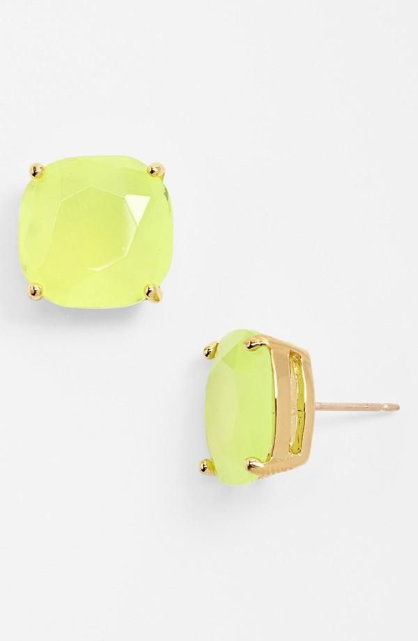 Cute Yellow Stud Earrings By Kate Spade Prep Club Pinterest Jewelry And