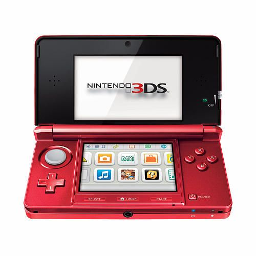 """Nintendo 3DS Handheld Gaming System - Flame Red - Nintendo - Toys """"R"""" Us"""