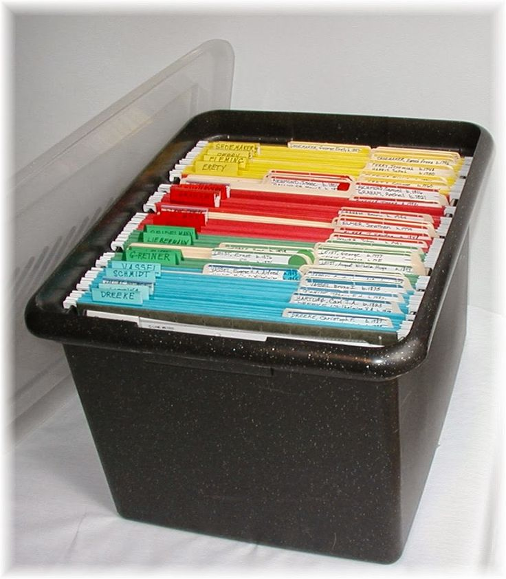 The FamilyRoots Organizer Color-Coding System #genealogy #gendover