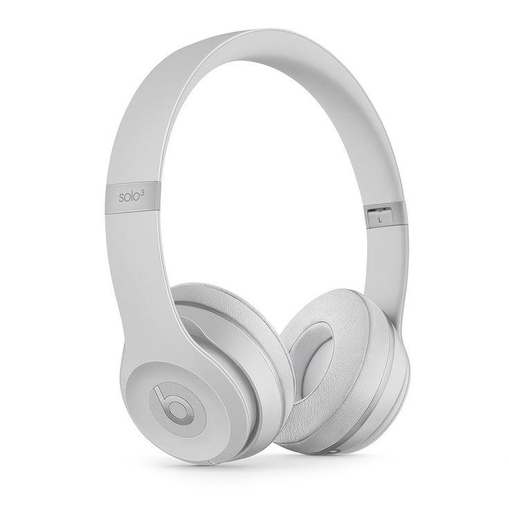 Beats Solo3 Wireless Headphone - Matte Silver