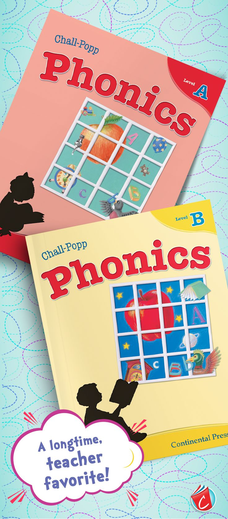 A classroom favorite for years! Chall-Popp Phonics books for grades K–3  take a systematic approach to direct phonics instruction. A student-friendly book design and a variety of stories and characters keep students engaged and ready to learn. View interior samples on our website. | Chall-Popp Phonics