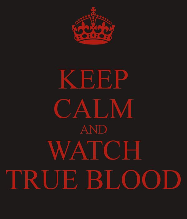 True Blood. THE SEASON PREMIERE WAS AWESOME!!!!!!!!!!! It's going to be one hell of a season!!!!