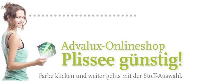 Plissee Farbfeld wählen und klicken. Plisseerollos von günstig bis edel. Der Sonnenschutz vom Experten aus Berlin.  http://advalux.de