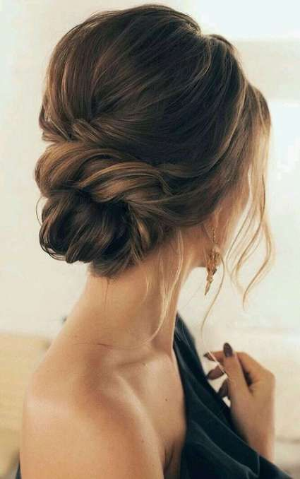 27+ Trendy hairstyles messy updo simple low buns