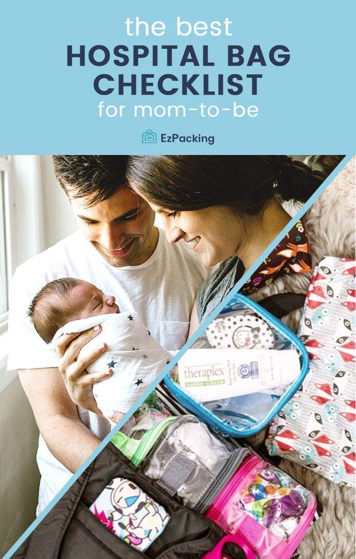 | Was Sie in Ihre Krankenhaustasche packen sollten | Hey, Mama! Sie sind also noch ein paar Wochen …   – The EzPacking Blog