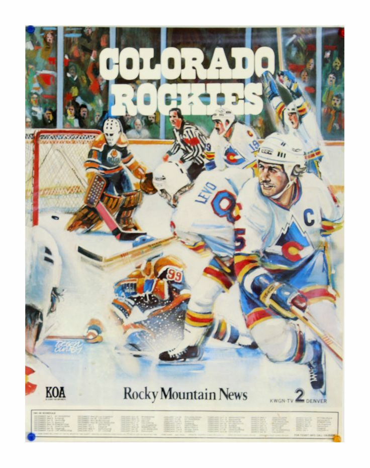 Vintage Colorado Rockies schedule poster (http://www.samuelowengallery.com/product.php?productid=88955)