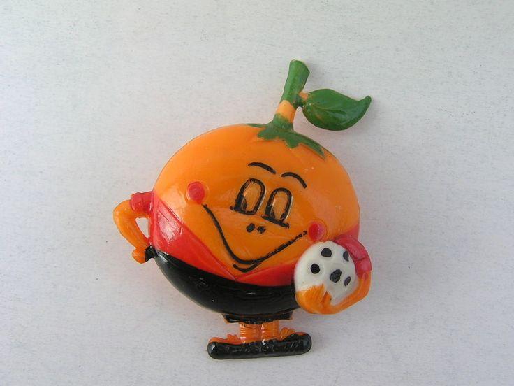 OLD NARANJITO ORANGE ESPANA SPAIN 82 SOCCER FOOTBALL MASCOT PLASTIC PIN BADGE    eBay