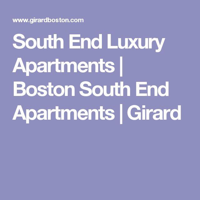 South End Luxury Apartments | Boston South End Apartments | Girard