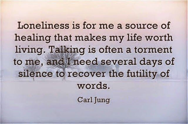 Carl Jung Depth Psychology: Carl Jung on Loneliness