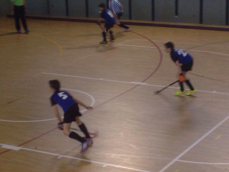 Final Campionat de Catalunya de Hockey Sala Infantils B: Club Egara 2-1 Junior FC