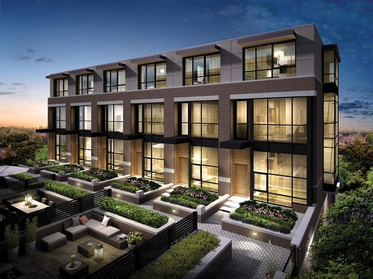 MODERN TOWNHOMES - Google Search More