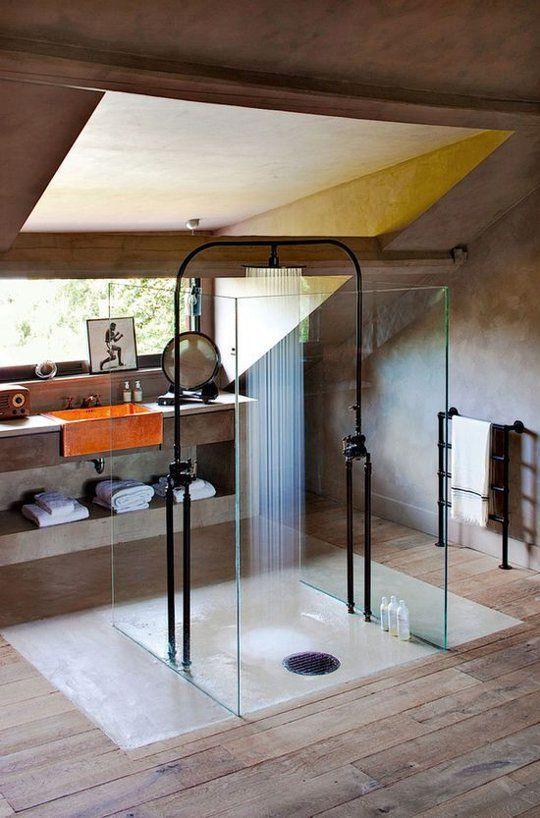 Salle De Bain Inspiration Marocaine : Awesome Bathroom with Shower