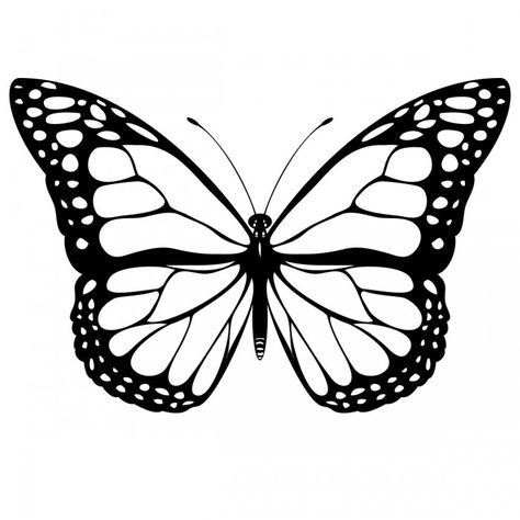 coloring pages painted lady butterfly | Painted Lady Butterfly Coloring Pages | kids crafts and ...