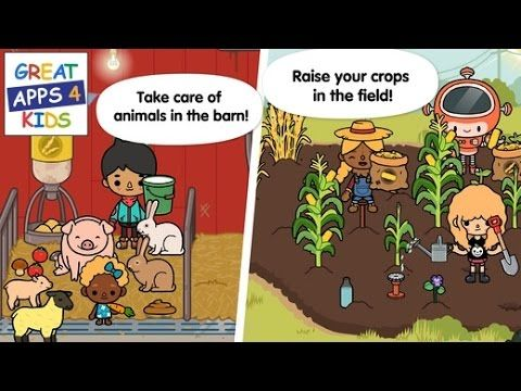 Toca Life: Farm | HD Gameplay  - Best Apps for Kids