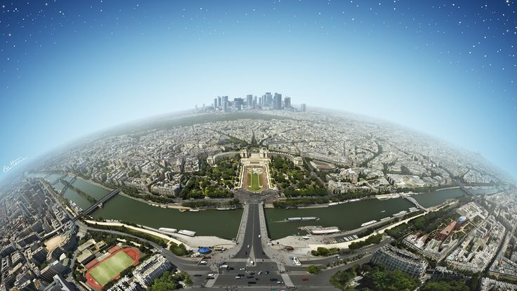 Paris Panorama HD 1080p Wallpapers Download