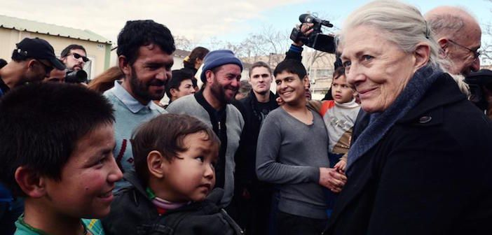"Vanessa Redgrave: ""The Greek People are Showing the World How to be Human, How to try to Help Fellow Human Beings"""