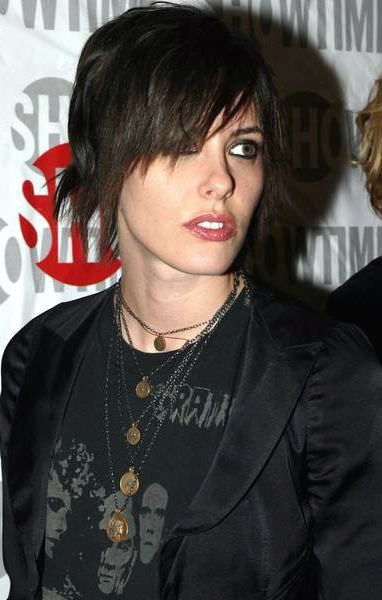 Kate Moennig - The L Word season 2 premiere, New York, february 8th 2005
