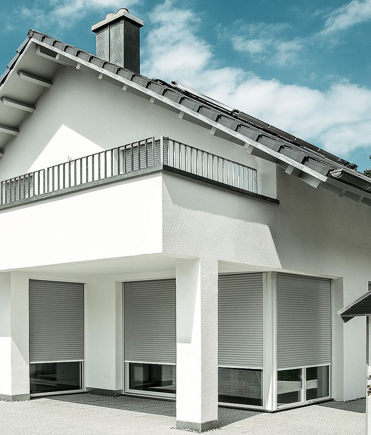 Referenzen Rolladen Bauer Stuttgart Roma Intego Vorbaurollladen Perfekt In Die Fassade Integriert Roma Rolladen Bau Aussenjalousien Rollladen Verschattung