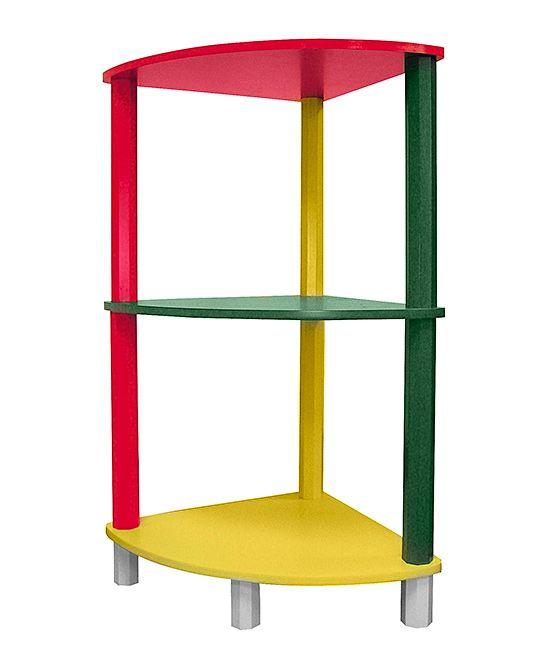 Three-Tier Corner Shelf