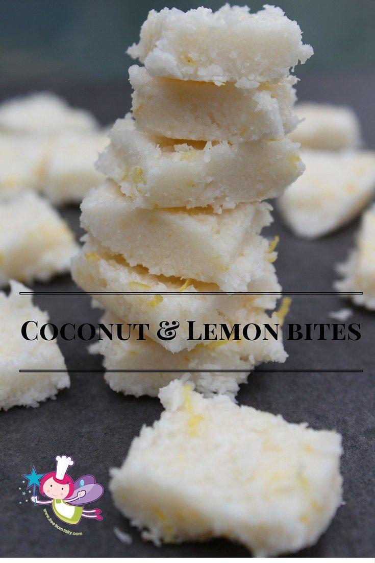 Coconut & Lemon bites