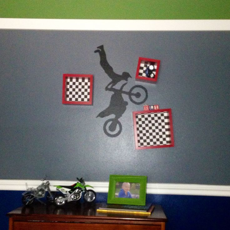 29 best images about dirt bike room ideas on pinterest for Dirt bike bedroom ideas