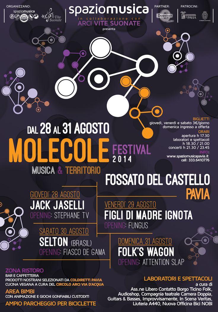 MOLECOLE FESTIVAL, Pavia