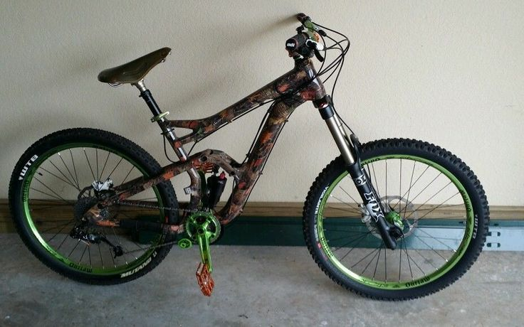 2013 Cannondale Claymore 1 Custom Hydro Dipped Bad A