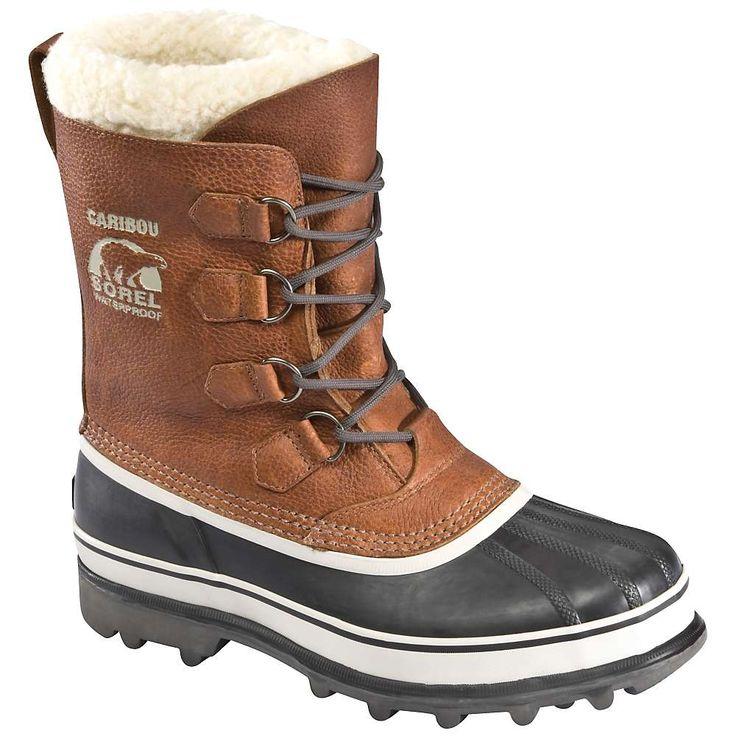Sorel Men's Caribou Wool Boot - 16 - Tobacco