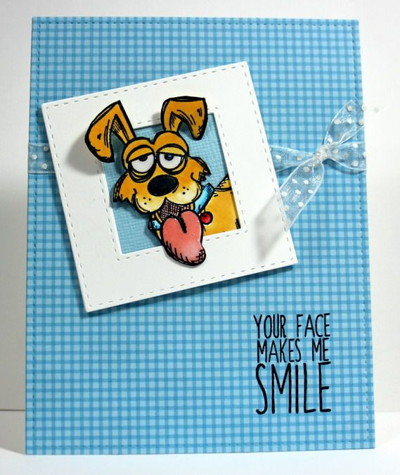 WT617 Happy Dog by grannytranny - Cards and Paper Crafts at Splitcoaststampers