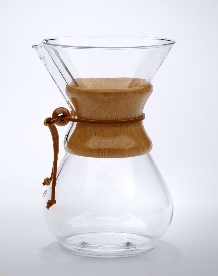 This is my coffee pot. The Chemex. Best home-brewed coffee. No plastic - no BPA. Just clean, pure coffee. The coffee only touches heat tempered glass. Wood sleeve and leather tie for handling. Also available with glass handle.  http://www.chemexcoffeemaker.com/Coffeemakers.htm
