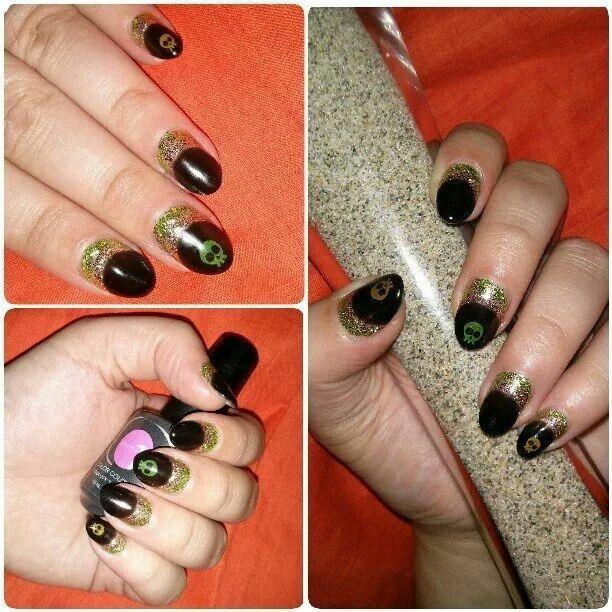 Halloween nails by Kayla