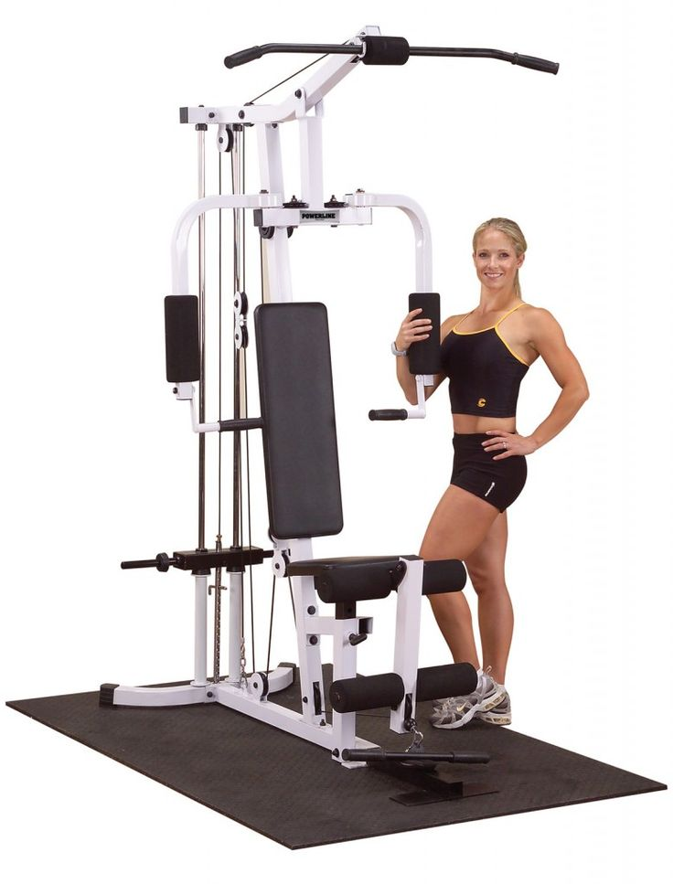 Best multi station home gym images on pinterest