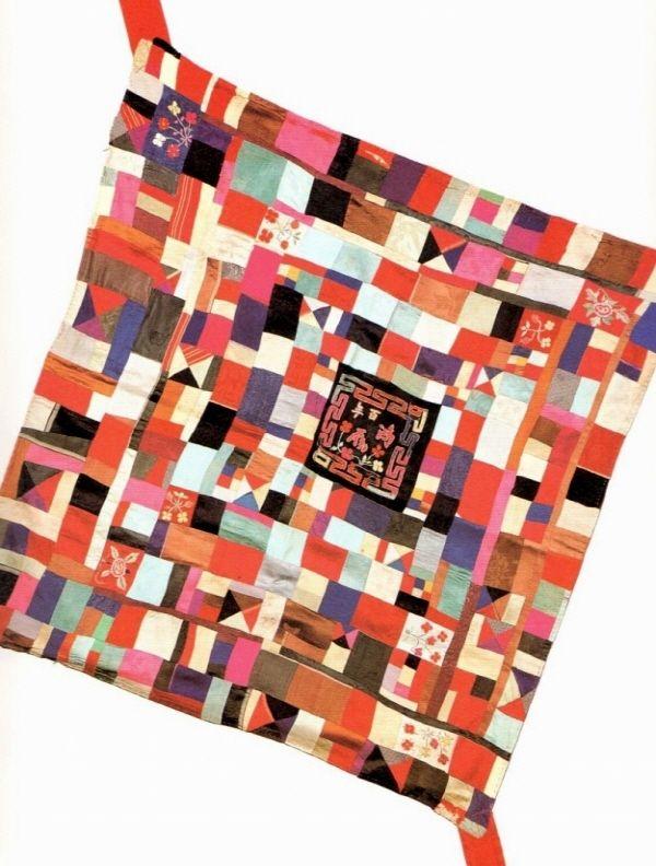 조각보 / Jo gak bo: Korean patchwork clothe