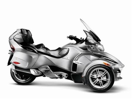 another of my dream bikes...the touring version, 990cc v twin Can am Spyder RT