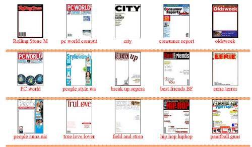 Fake Magazine Covers es una web en la que podemos crear fotomontaje con más de 500 tapas de revistas muy conocidas en el mundo gráfico.
